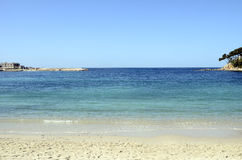 Renecros beach in Bandol, France Stock Images