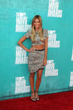 Renee Bargh arriving at the 2012 MTV Movie Awards Stock Photo