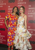 Renee Elise Goldsberry and Rose Byrne Royalty Free Stock Photo