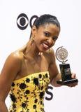 Renee Elise Goldsberry: Um de Hamilton Tony Winners imagem de stock