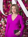 Renee Fleming på Tony Awards 2018 Royaltyfria Foton
