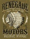 Renegade Motors Vintage Design for Apparel