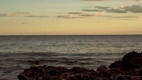 Renegaen i Oropesa Del Mar arkivfilmer