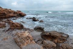Renegaen i Oropesa Del Mar, Castellon Fotografering för Bildbyråer