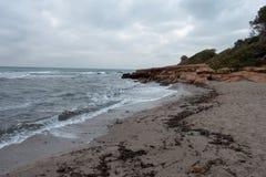 Renegaen i Oropesa Del Mar, Castellon Royaltyfri Fotografi
