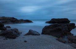 Renegaen i Oropesa Del Mar, Castellon Royaltyfria Foton
