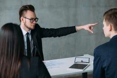 Renege o relacionamento profissional falhado contrato imagem de stock royalty free