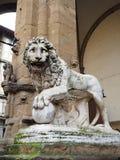 Renesansowa rze?ba antycznymi artystami w Florence Italy obraz royalty free