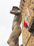 Renesansowa rze?ba antycznymi artystami w Florence Italy zdjęcie stock