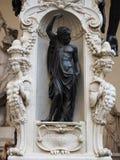 Renesansowa rze?ba antycznymi artystami w Florence Italy fotografia royalty free