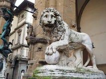 Renesansowa rze?ba antycznymi artystami w Florence Italy zdjęcia stock