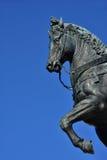 Renesansowa wojennego konia statua Zdjęcia Royalty Free