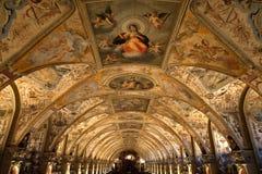 Renesansowy antiquarium Obrazy Royalty Free