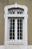 Renesansowy okno z kratownicą Zdjęcie Stock