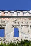 Renesansu kasztel, obrończy budynek, rujnuje, na słonecznym dniu, Lublin Voivodeship, Janowiec, Polska Zdjęcia Stock