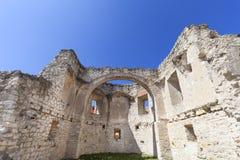 Renesansu kasztel, obrończy budynek, rujnuje, na słonecznym dniu, Lublin Voivodeship, Janowiec, Polska Fotografia Royalty Free