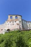 Renesansu kasztel, obrończy budynek, rujnuje, na słonecznym dniu, Lublin Voivodeship, Janowiec, Polska Zdjęcie Royalty Free