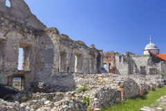 Renesansu kasztel, obrończy budynek, ruiny, Lublin Voivodeship, Janowiec, Polska Fotografia Stock