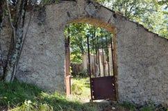 Reneuzzi ghost town abandoned Stock Photo