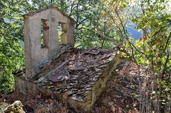 Reneuzzi ghost town abandoned Royalty Free Stock Photos