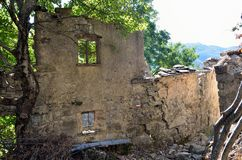 Reneuzzi ghost town abandoned Stock Photo