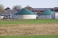 Renewable energy. Alternative energy production with biomass stock photo