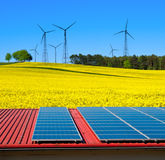Renewable energy Stock Image
