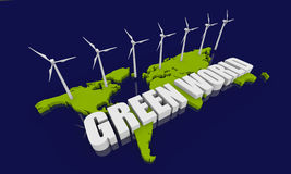 Renewable energy concept Royalty Free Stock Images