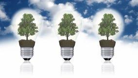Renewable energy concept, green energy symbol Stock Photo