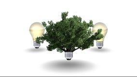 Renewable energy concept, green energy symbol Stock Images
