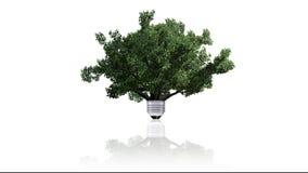 Renewable energy concept, green energy symbol Stock Photography