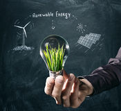 Renewable energy concept. Stock Photography