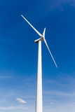 Renewable energy generation with wind turbine royalty free stock photography