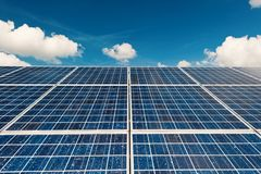 Renewable Energy. In Germany on a sunny day Royalty Free Stock Photo