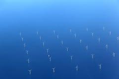 Renewable Energy: Offshore wind farm Stock Photos