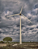 Renewable Energy. Photograph in which renewable energies take the importance to have a better world and future Royalty Free Stock Image