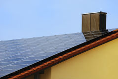 Renewable Energy With Photovoltaic Royalty Free Stock Photography