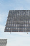 Renewable Energy - Photovoltaic Solar Panel Arrays Royalty Free Stock Images