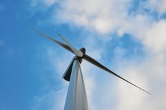 Renewable energy. Who knows will be saving the planet Stock Image