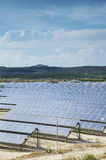 Renewable Energy: Solar as the best way to produce natural energ Royalty Free Stock Photo