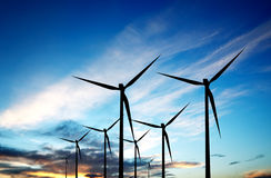 Renewable energy source Royalty Free Stock Images