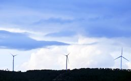 Renewable energy. Who knows will be saving the planet Royalty Free Stock Images