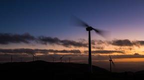 Renewable Energy Wind Royalty Free Stock Images