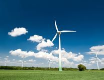 Renewable Energy. Windmills in Germany Stock Photography