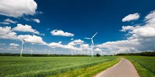 Renewable Energy. Windmills in Germany Stock Photos