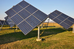 Renewable power solar Royalty Free Stock Photography