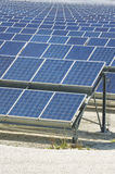 Renewable resorce: Solar - production of natural energy Royalty Free Stock Photography