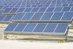 Renewable Resource: Solar as the best way to produce natural ene Stock Photography