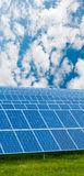 RENEWABLE SOLAR ENERGY Stock Images