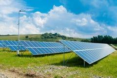 RENEWABLE SOLAR ENERGY Royalty Free Stock Photo